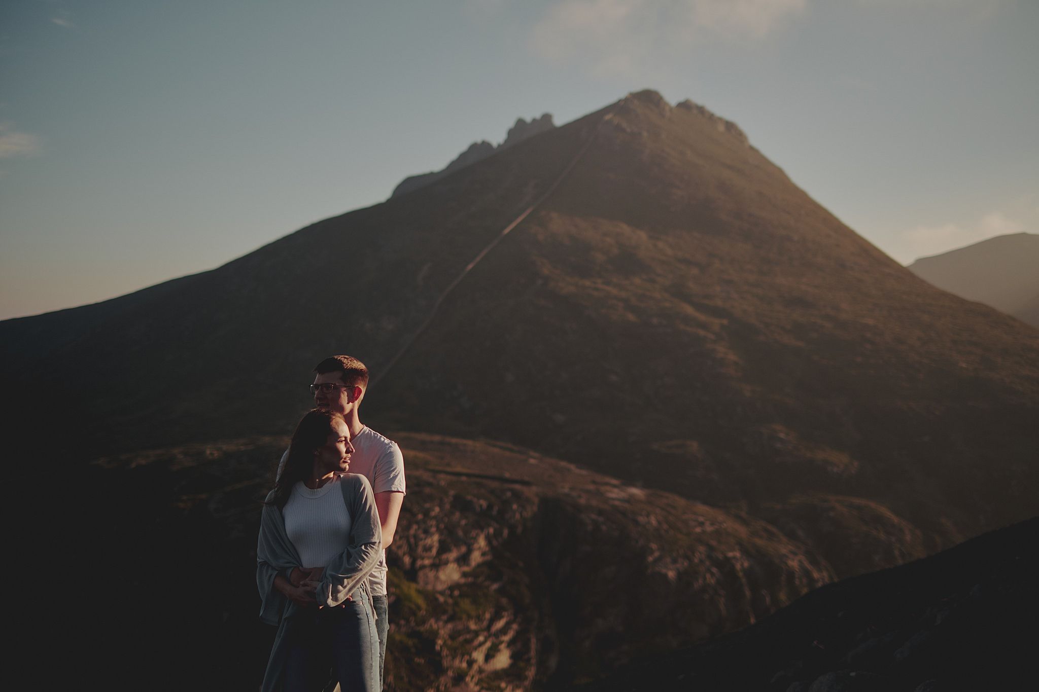 engagement shoot mourne mountains northern ireland